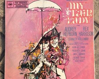 My Fair Lady Soundtrack | Audrey Hepburn Rex Harrison | Vintage Vinyl Record