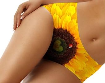 Ladybug Sunflower Underwear