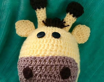 Giraffe Hat for Large Adult
