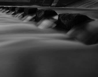 B&W water digital photo (3 photo pack)
