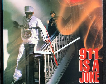 Public Enemy 911 IS A JOKE – Album Cover Wall Clock