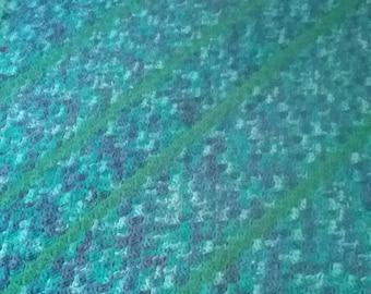 Blue/Green Lapghan