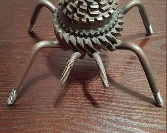 Welded Scrap Metal Spider