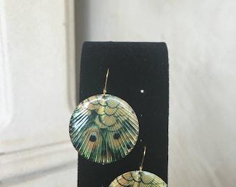 Peacok Earrings