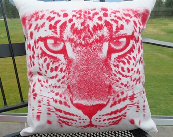 Custom Printed Pillow - Cheetah