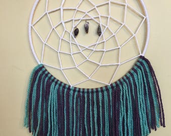 Amethyst dream catcher