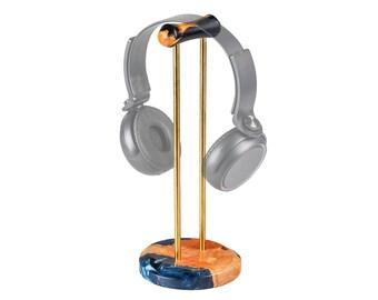 Hybrid Wood Resin Headphone Stand