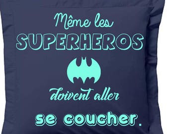 pillowcase superhero, kids gift