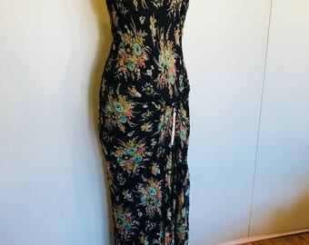 30s style floral dress