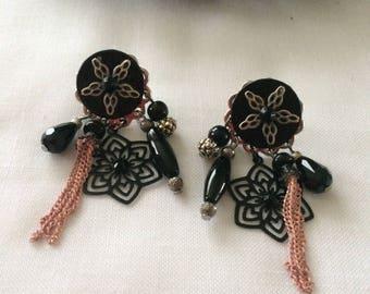 pierced with posts fancy earrings