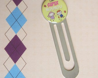 "Gift for ""nanny"": ""Great nanny"" bookmark"