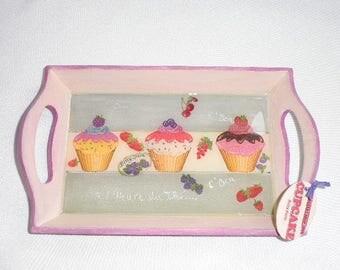 Tray cupcake resin