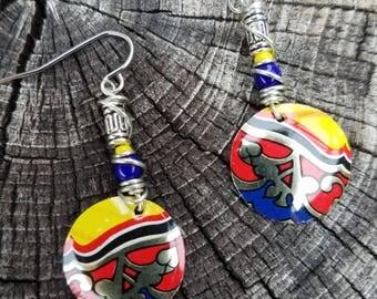 Lightweight Tin Earrings
