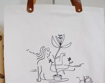 Tote bag XL Jul0 - cat bada