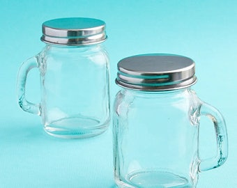 24 Perfectly Plain Collection Glass Mason Jars - Set of 24