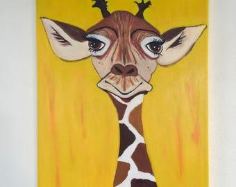 Giraffe baby boy
