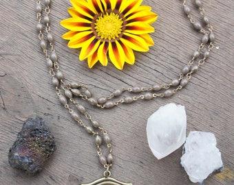 Œil of Horus pendant necklace