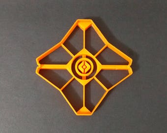 3D Printed Destiny Ghost Cookie Cutter
