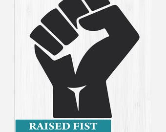 INSTANT DOWNLOAD_Raised Fist SVG,Vector Files For Cricut,Raised Fist Files,Fist Svg Cutting Files,Clipart Raised Fist,Svg,Png,Dxf,Pdf,Eps