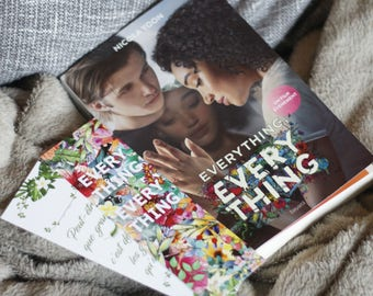 """Bookmark quote Everything Everything - Nicola Yoon - """"Maybe growing up means disappointing the people we love."""""""