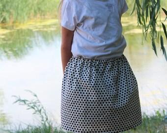 Polkadot skirt 7