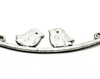 Torque silver Bird on branch connector