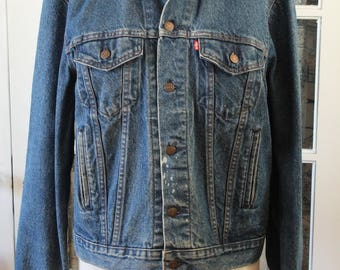 1980's Levis Denim Jacket