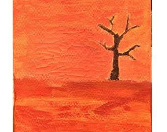 Scorched Earth | Painting | Art | Desert |