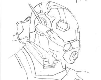 Ant Man Art Print 8.5x11