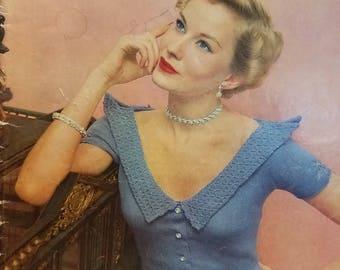 Bear Brand Knit Fashions Vol. 338 1940s Knit Patterns