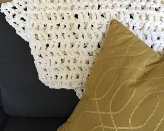 Baby Blanket Chunky Blanket Crochet Blanket Crochet Baby Blanket