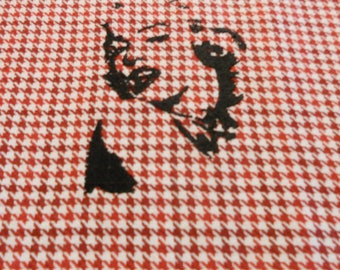 Marilyn Monroe Embroidered Towel