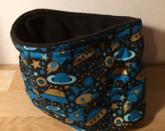 Black, blue and Golden snood for children