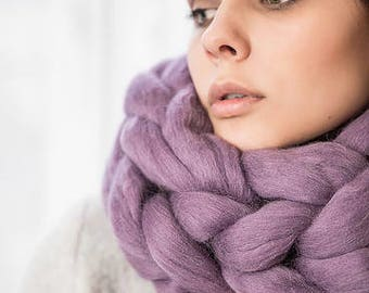 Wool Scarf 100% Merino Wool