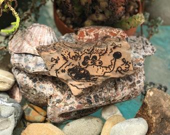 Rat Fink -Driftwood Art
