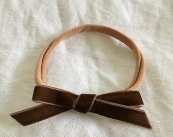 Original velvet bow