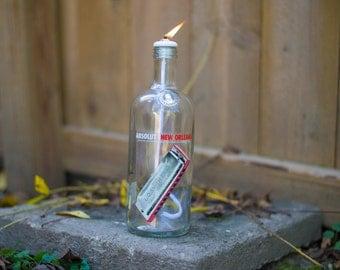 Tiki Torch Absolut Vodka New Orleans