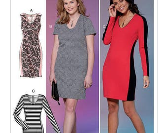 M7652 Mc Call's dress sewing pattern