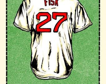 C. Fisk Jersey