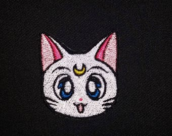 Sailor Moon inspired Artemis Patch Iron or Sew On