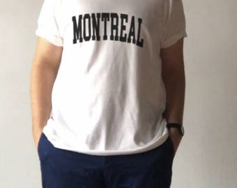 Montreal Tee -- Montreal Shirt | Montreal T-Shirt | Quebec Shirt | Montreal Shirt | Montreal | Montreal T Shirt | Quebec Shirt | Quebec