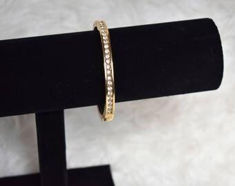 Gold Colored Bangle Bracelet