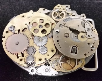 STEAM PUNK Style Belt Buckle