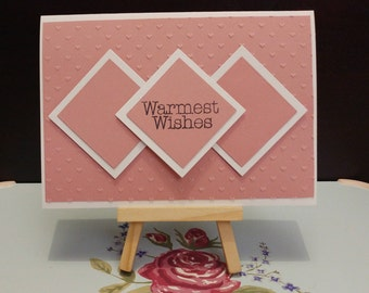 Warmest Wishes card | Love | Birthday card | Thank you card | Mothers day card | Valentine's card