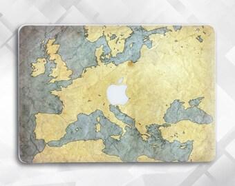 The World Map Macbook Pro Case Map Laptop Case Macbook Hard Case Macbook Air 11 Macbook Air 13 Marble Macbook Macbook Pro 15 case