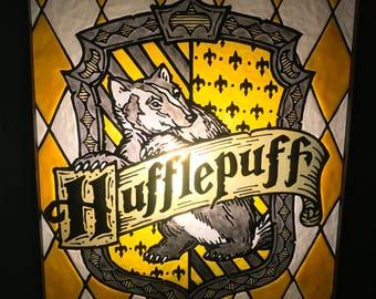 Hufflepuff House Crest Lightbox