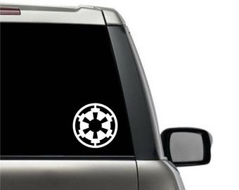 Star Wars Imperial crest Decal