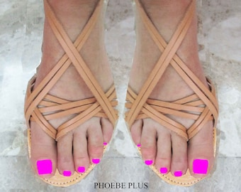 Sandals Women's,gift for her,Φυσικά δερμάτινα σανδάλια,Καλοκαιρινά σανδάλια,Greek Sandals,Gladiators Sandals,Strappy Sandals,PHOEBE PLUS