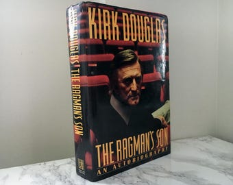 The Ragman's Son : An Autobiography by Kirk Douglas (SIGNED 1st Edition)