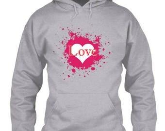 Love Splatter Hoodie